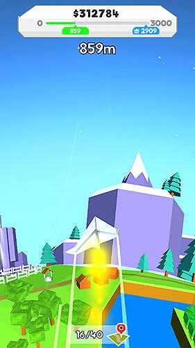 Paper plane planet Game