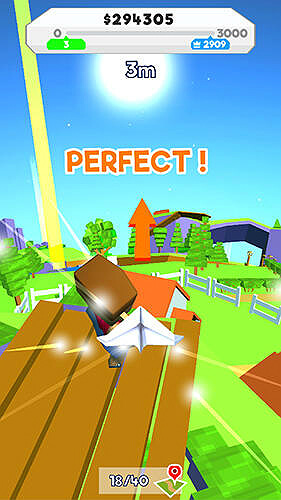 Paper plane planet GamePlay