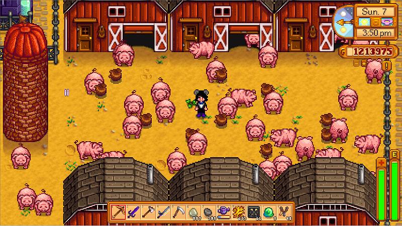 Pig Barn Stardew Valley