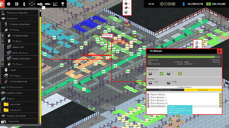 Production Line Car factory simulation Crack