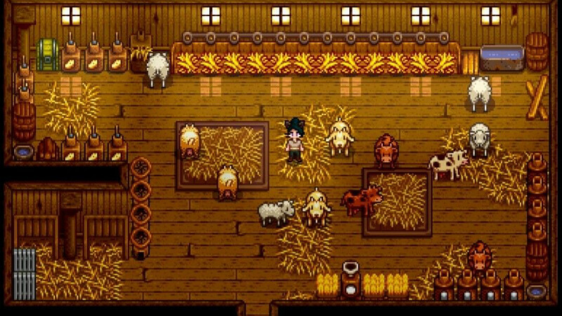 Sheep Barn Stardew Valley