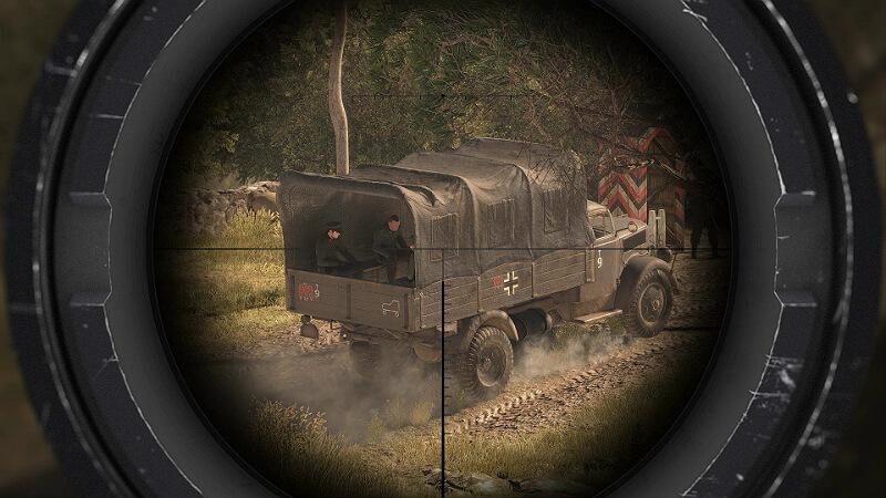 Sniper Elite 4 Gun