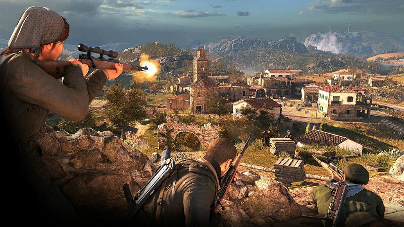 Sniper Elite 4 War