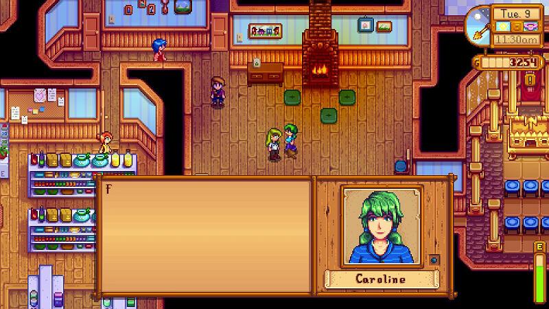 Stardew Valley Caroline