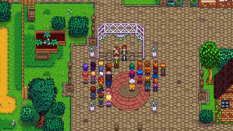 Stardew Valley Dancing Festival