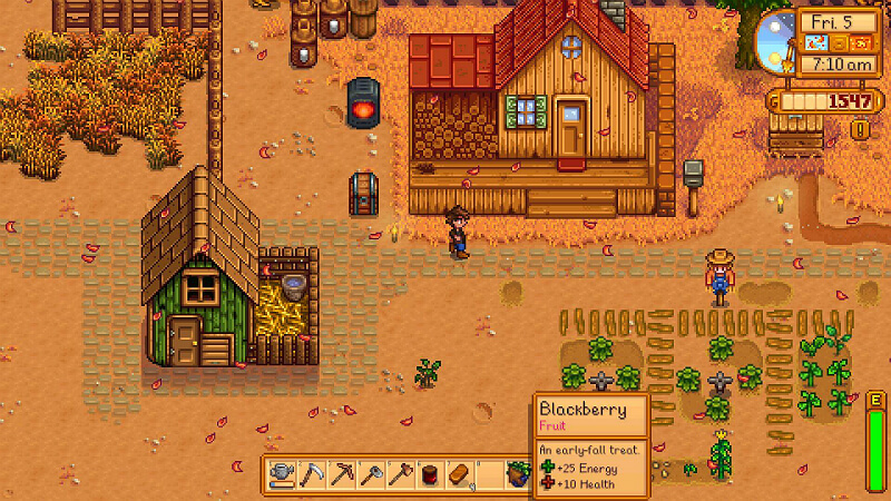 Stardew Valley Discovering the Seed