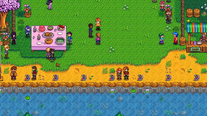 Stardew Valley Flower Dance Location