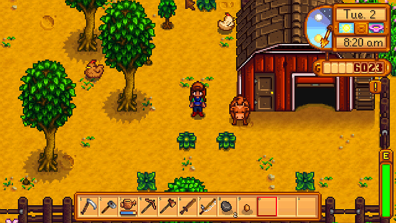 Stardew Valley Produce Cows