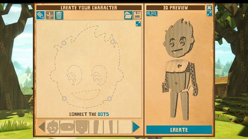 CardLife: Cardboard Survival Character