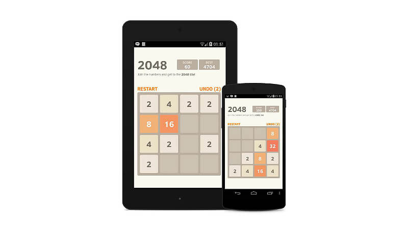 2048 Number Puzzle Game Android