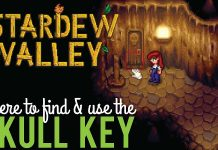 Stardew Valley Skull Key