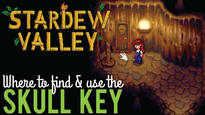 Stardew Valley Skull Key