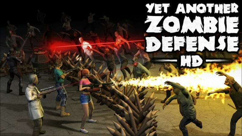 Yet Another Zombie Defense HD PC Games