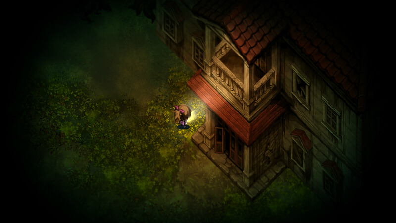 Yomawari: Midnight Shadows Gameplay