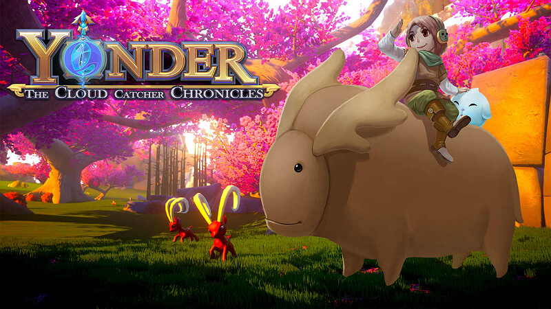 Yonder: The Cloud Catcher Chronicles PS Games