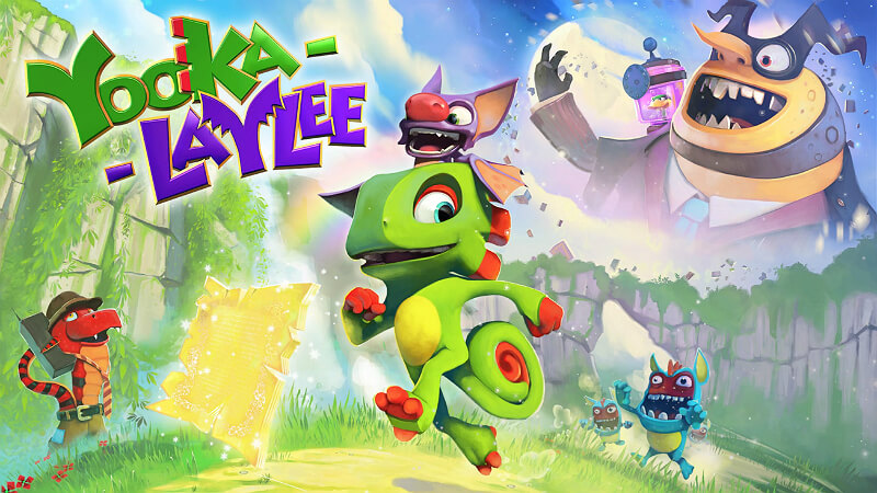 Yooka-Laylee PS Games