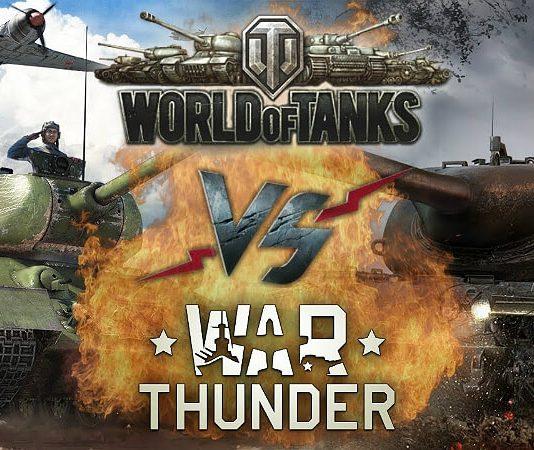 War Thunder vs World of Tanks