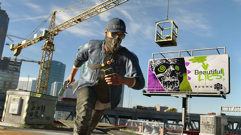 Watch Dogs 2 Military Guns