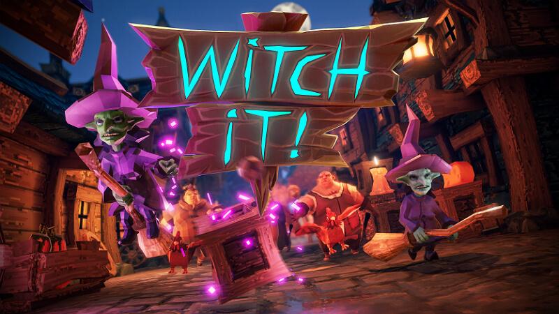 Witch It Secret Props