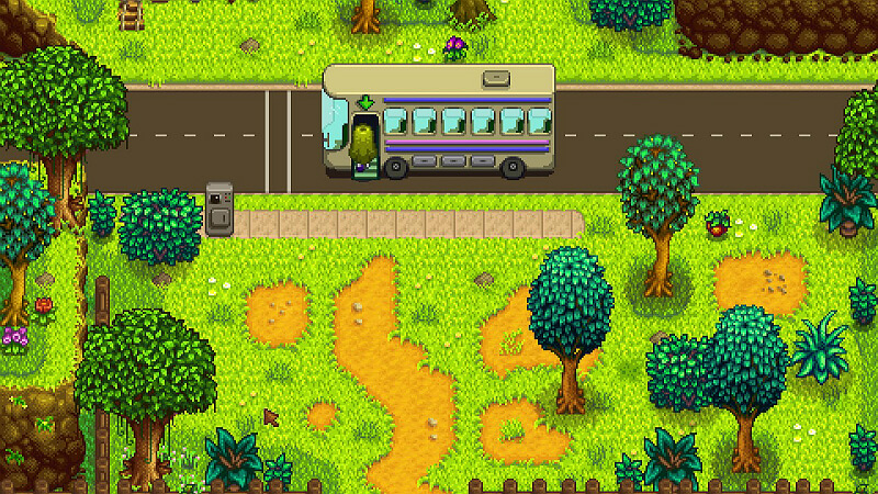 Stardew Valley Bus