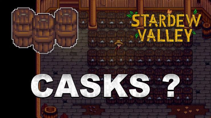Stardew Valley Cask