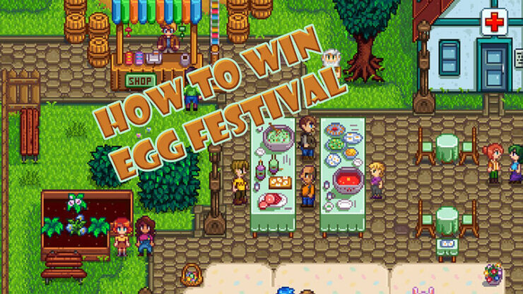 Stardew Valley Egg Festival
