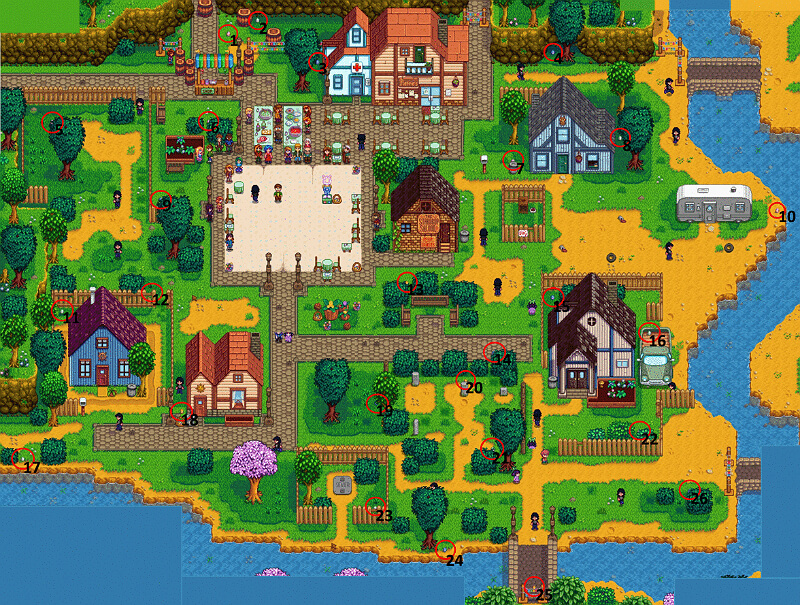 Stardew Valley Egg Hunt