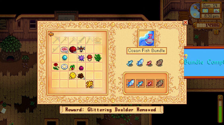 Stardew Valley Fish Bundle