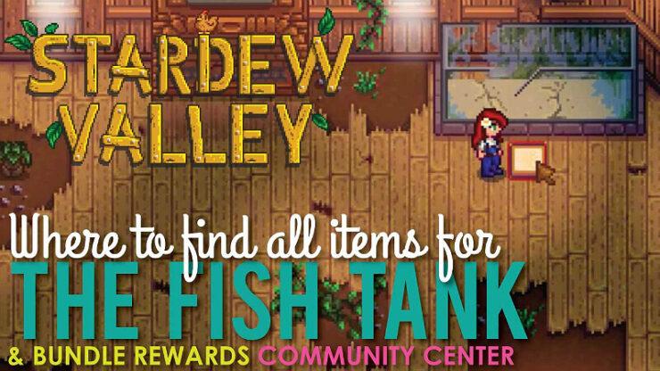 Stardew Valley Fish Tank Bundles