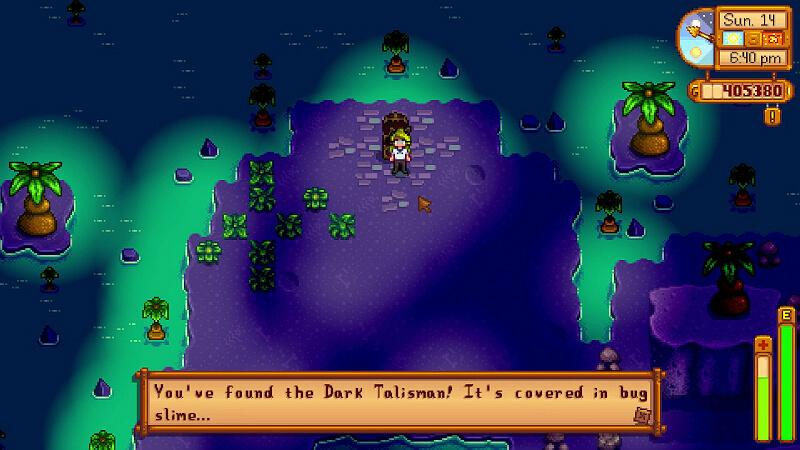 Quest Dark Talisman