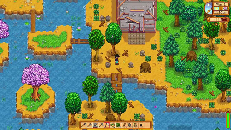 Stardew Valley Riverland Farm