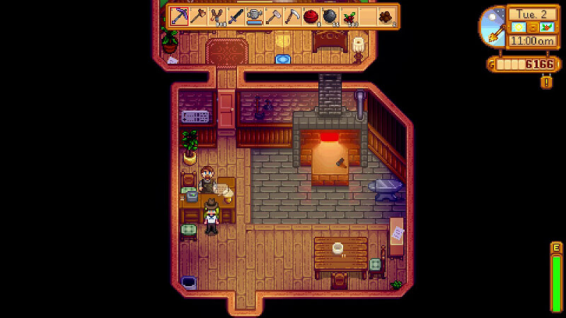 Stardew Valley Upgrade Tools