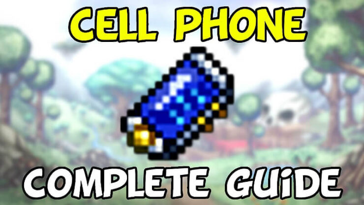 Terraria Cell Phone