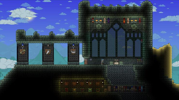 Terraria Dungeon