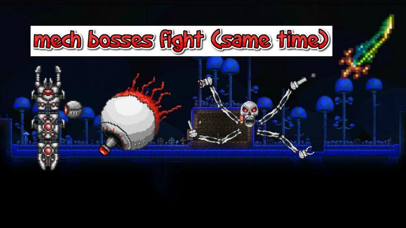 Terraria Mechanical Boss: Guide and Main Tips | GamesCrack org