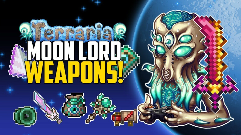 Moon Lord Weapons