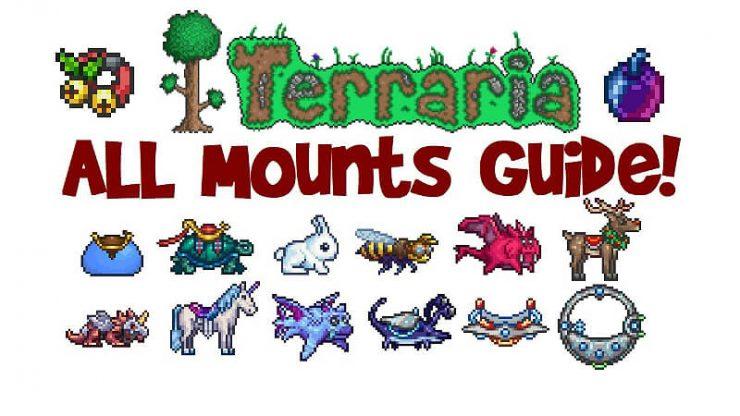 Terraria Mounts