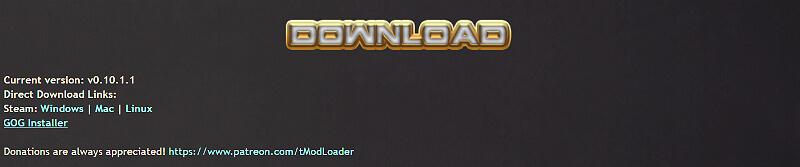 Tmodloader Download