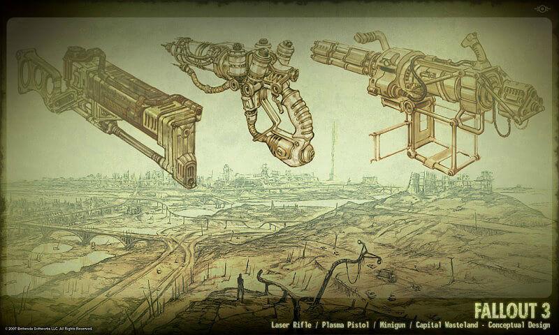 Fallout 3 Unique Weapons