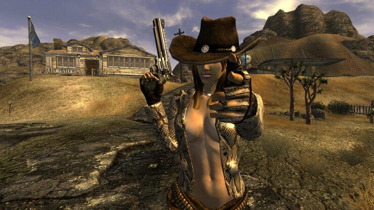 Fallout New Vegas Console