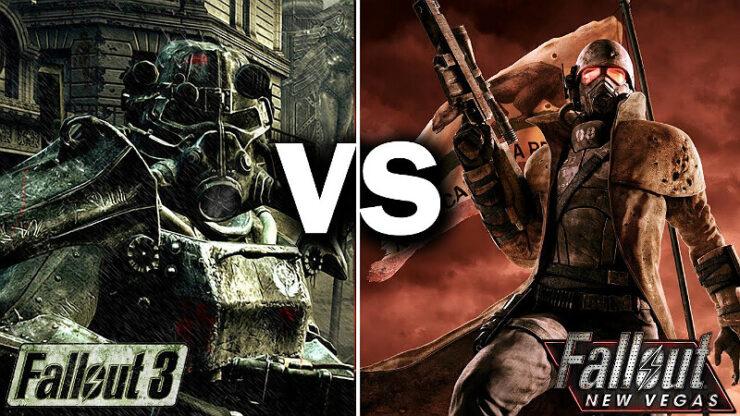 Fallout New Vegas vs Fallout 3