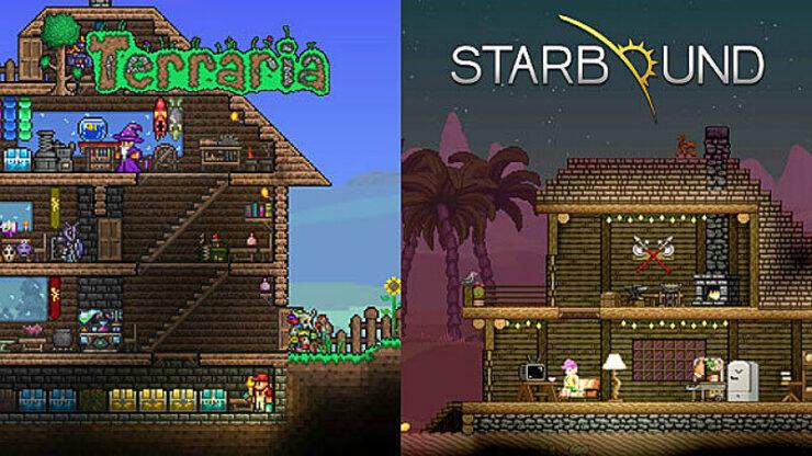 Starbound vs Terraria
