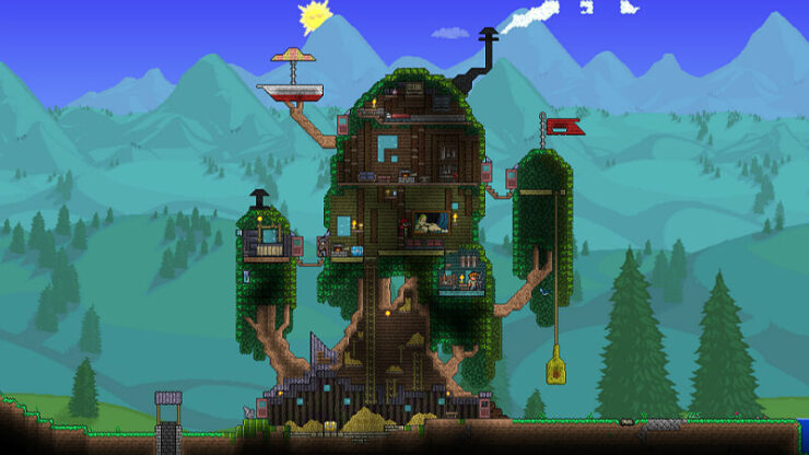 Terraria Adventure Map