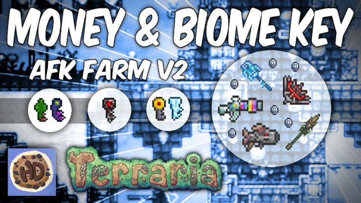 Terraria Biome Keys