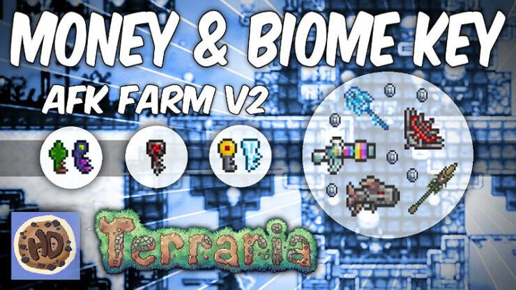 Terraria Biome Keys