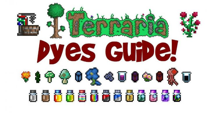 Terraria Dyes Guide