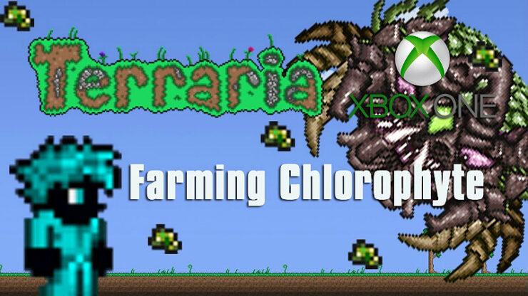 Terraria Farming Chlorophyte