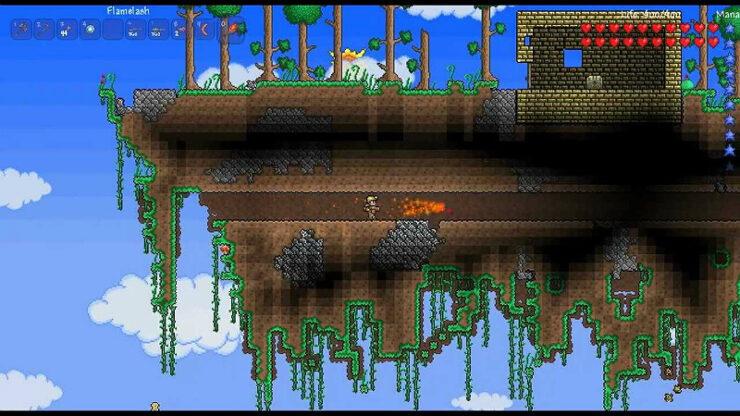 Terraria Floating Islands