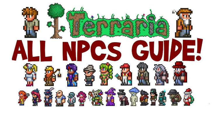 Terraria How many NPC