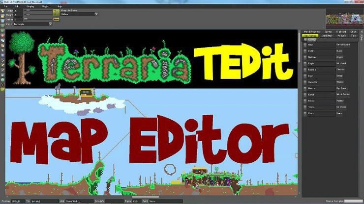 Terraria Map Editor